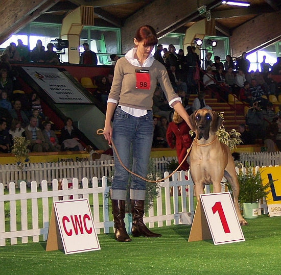 EULALIA z Marcyporęby - Best Female and Best of Breed